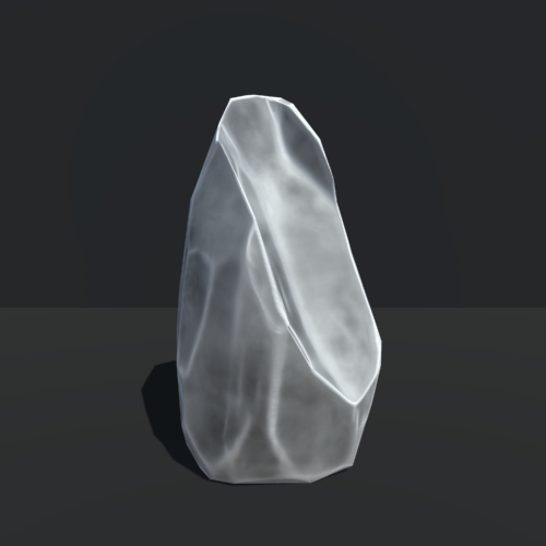 Tall Broken Rock, Unity 3d
