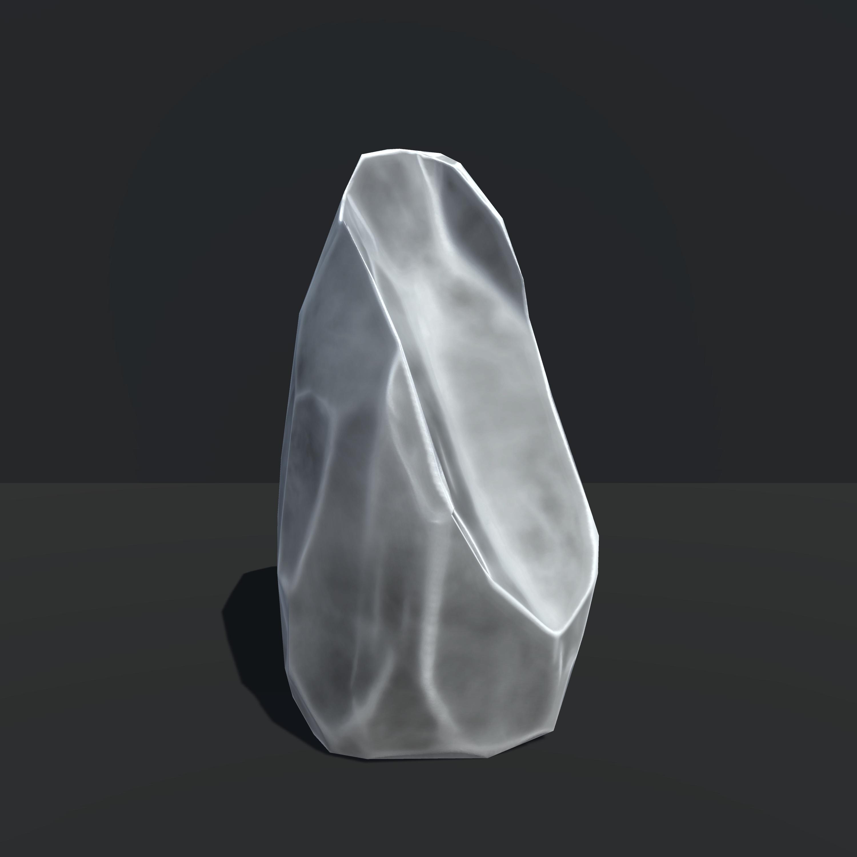 Tall Broken Rock, Unity 3d