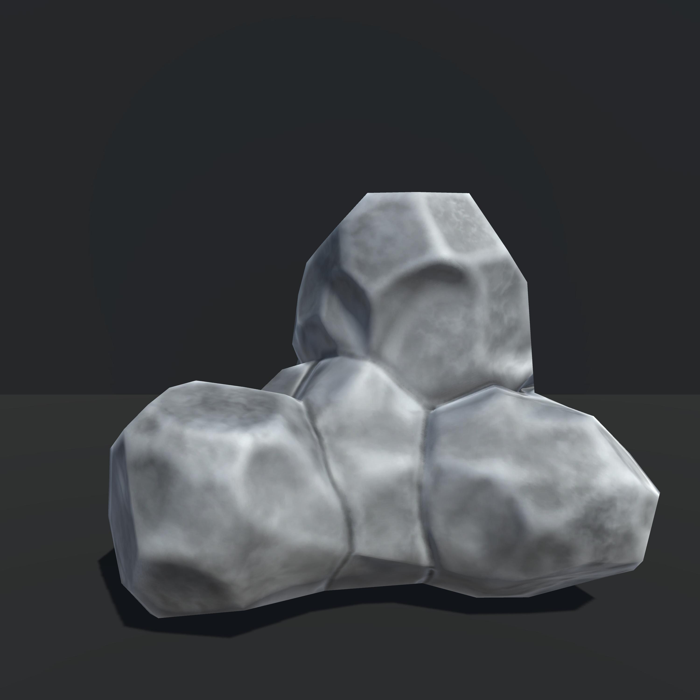 Set of Combined Rocks, Unity 3d