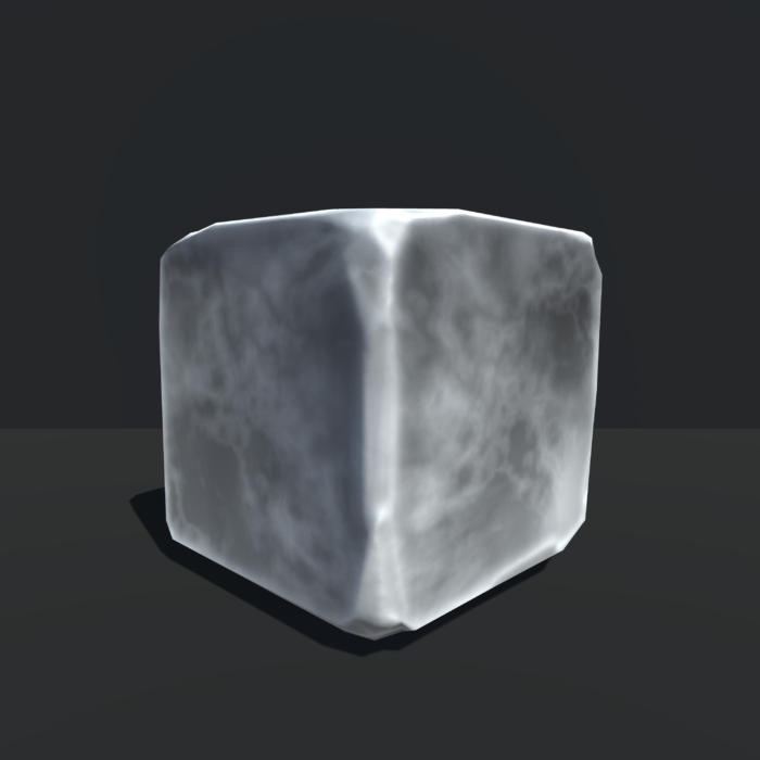 Chiseled Rock Variant, Unity 3d