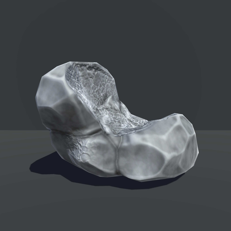 Broken Rock Statck Unity3d