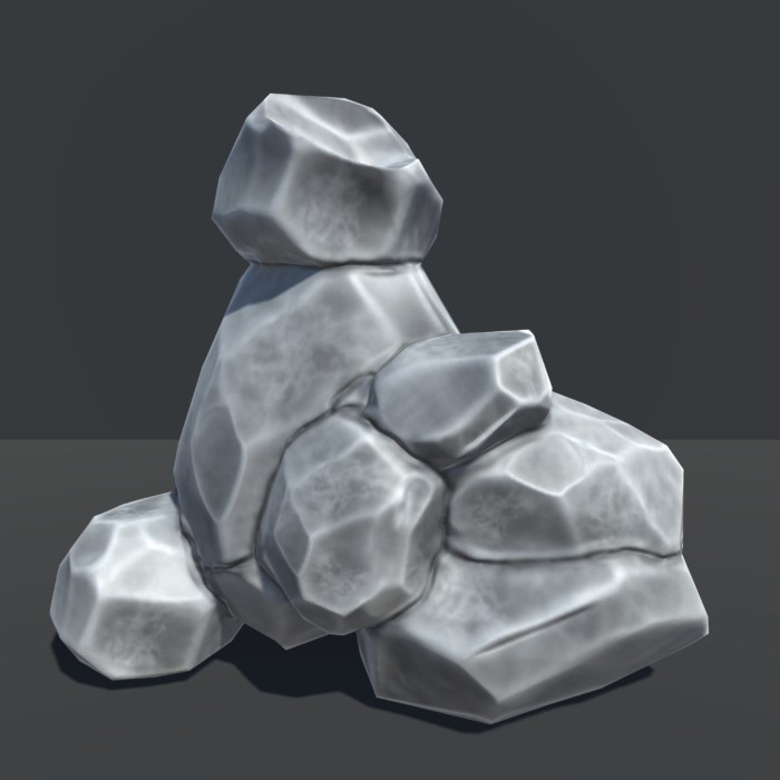 Stack of Rocks Unity 3d