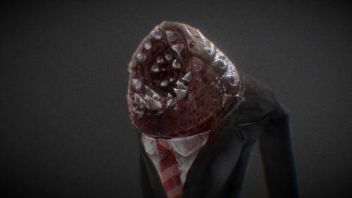 Professional Parasite, 3d Model