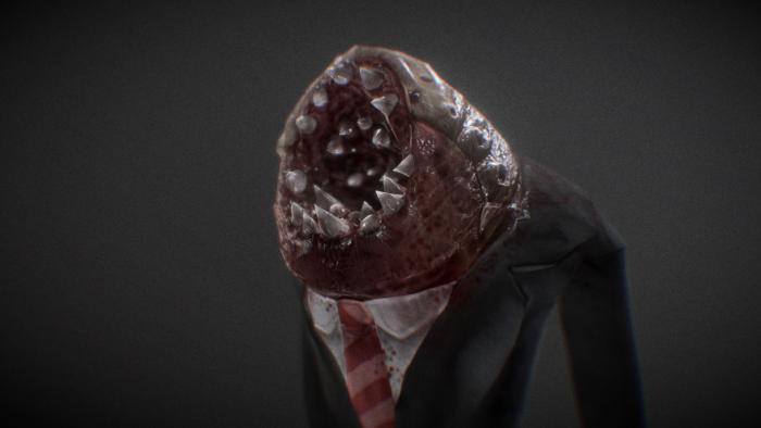 Professional Parasite, 3d Model