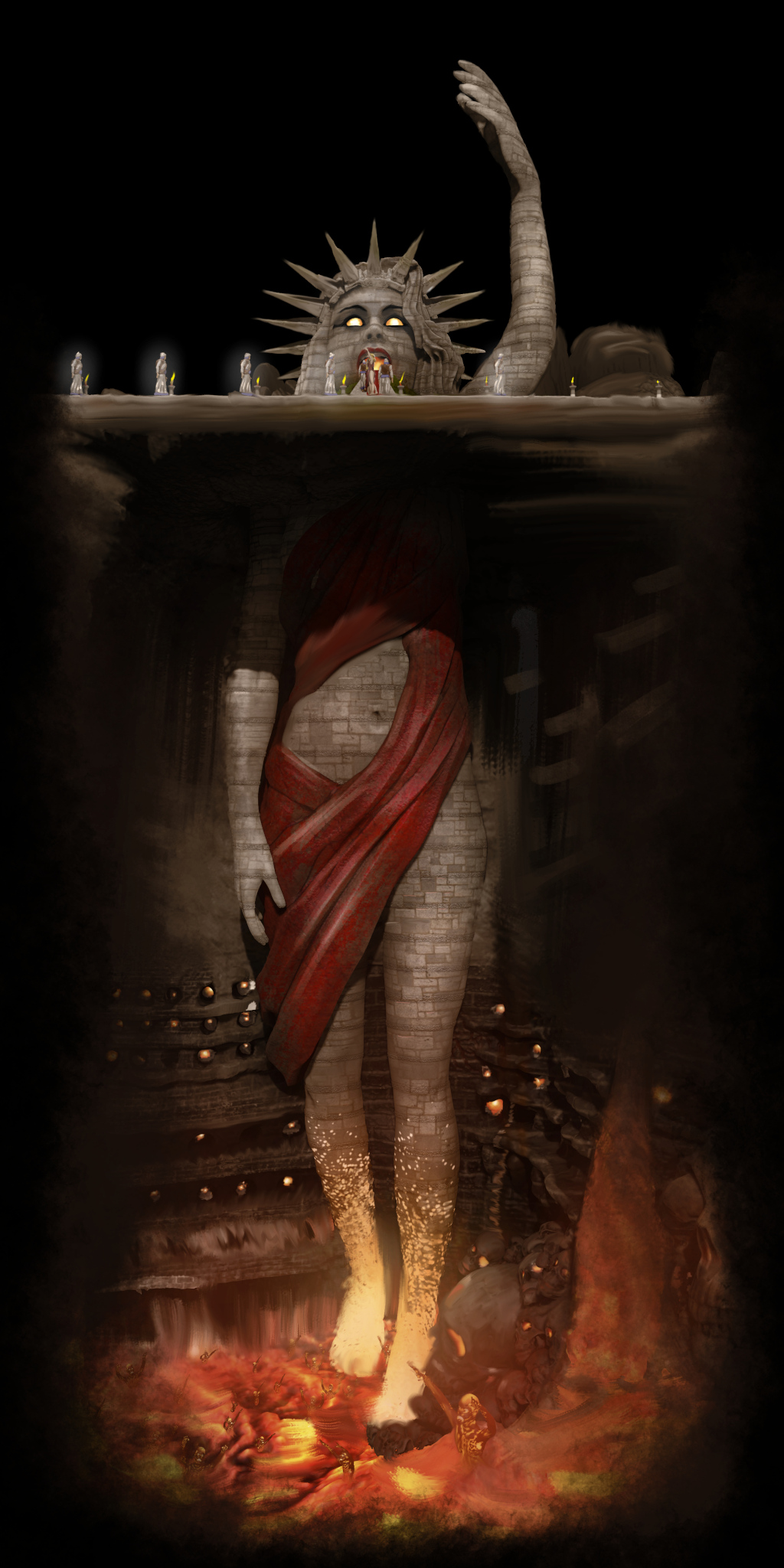 Mystery Babylon the Great Mother of Harlots