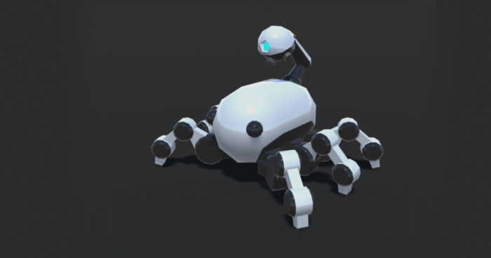 Drone Crawler, Unity3d Asset Character