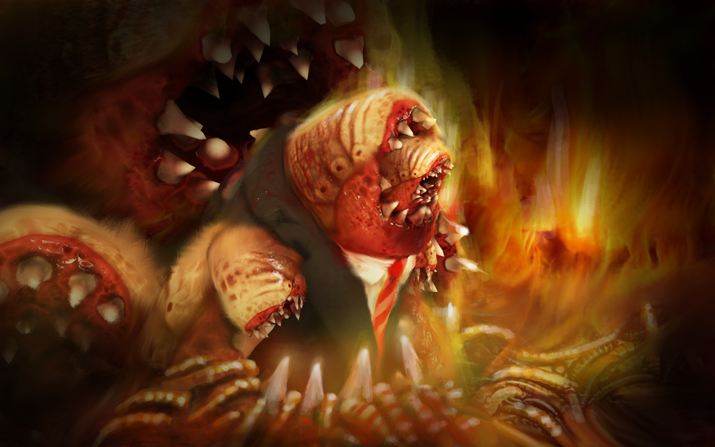 The Honorable Mr Leech in Hell, His Native Home
