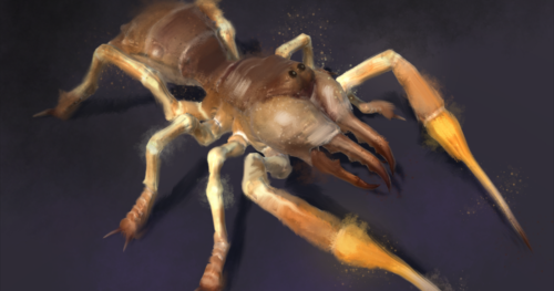 Camel Spider Monster, Unity 3d Game Asset
